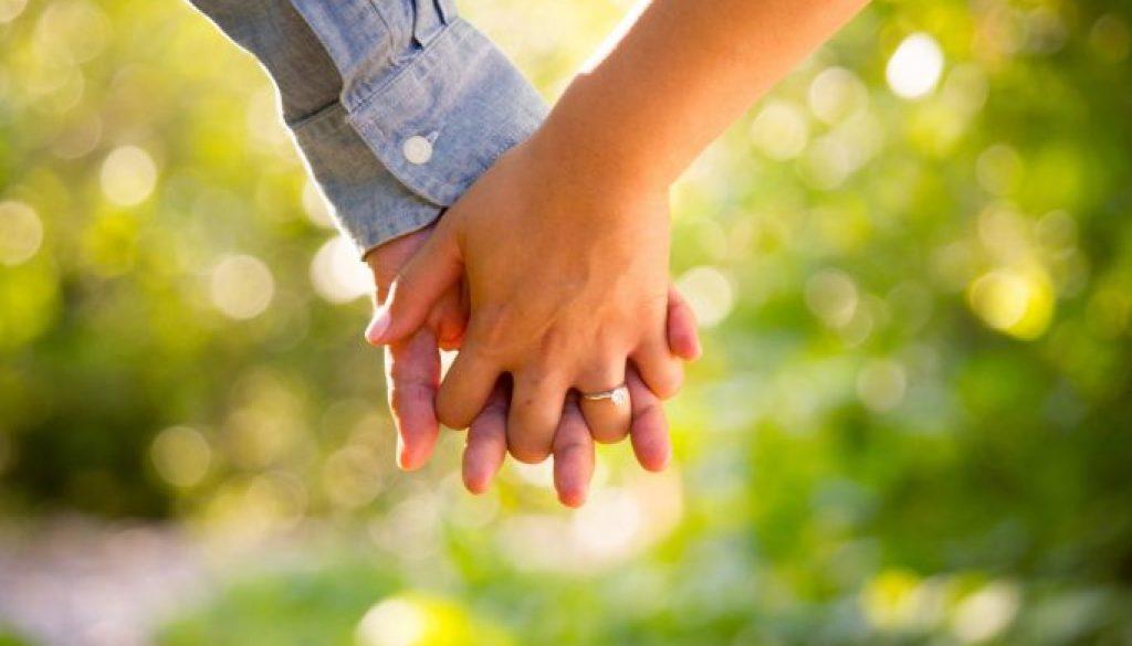 couple's hand